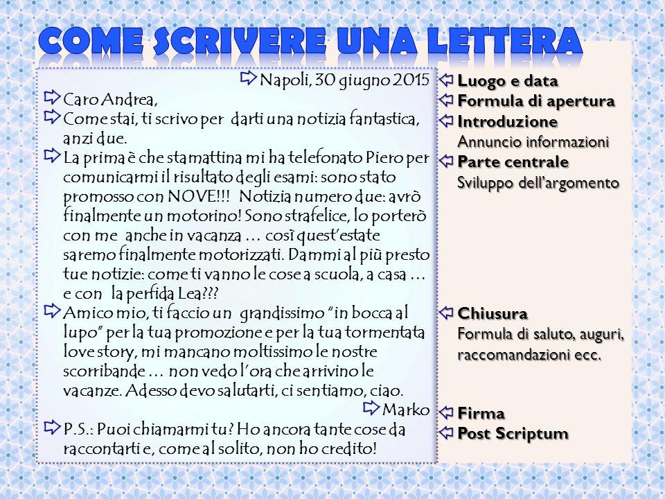 La Lettera Personale La Lettera è Una Comunicazione Scritta Tra Un