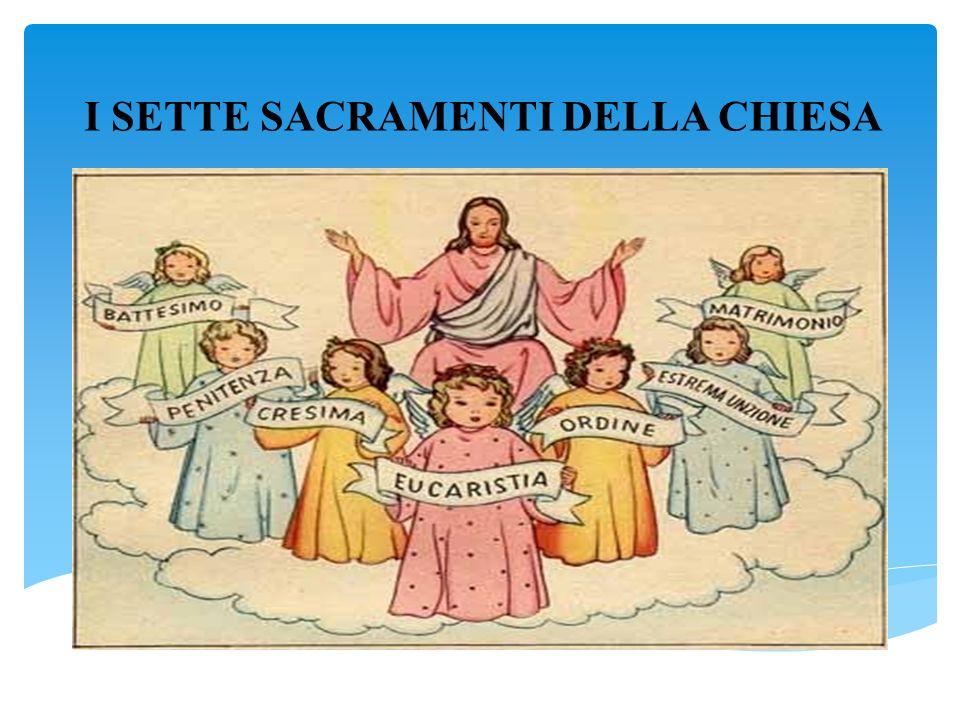 Risultati immagini per i sette sacramenti cristiani