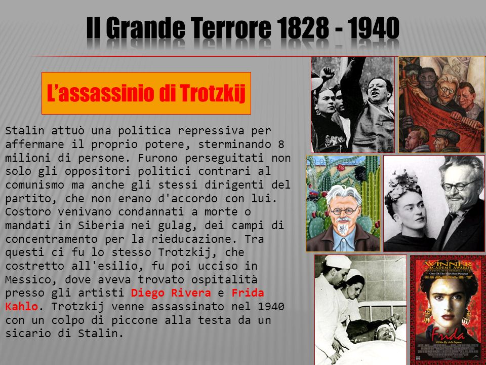L'assassinio di Trotzkij