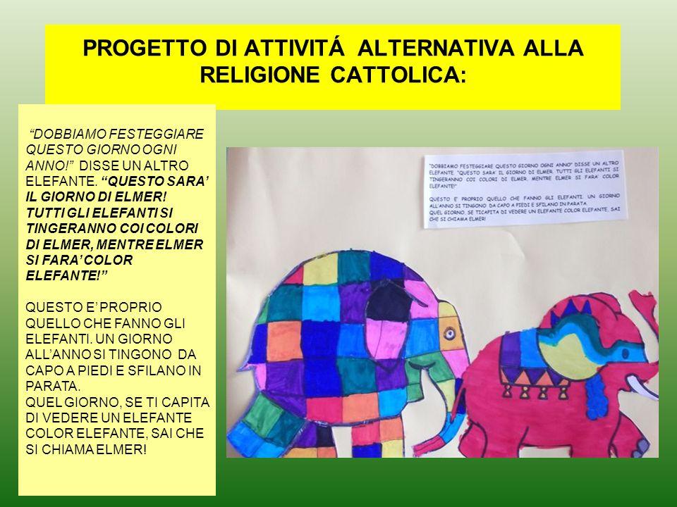 Progetto Di Attivitá Alternativa Alla Religione Cattolica Ppt