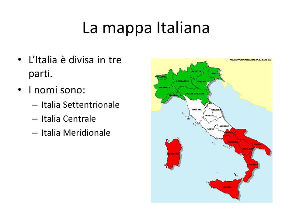 Cartina Italia Centrale E Meridionale.La Geogragia D Italia Italian Iva Ppt Video Online Scaricare