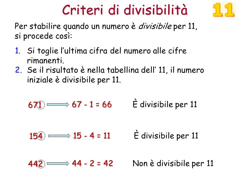 reputable site 30b14 eae54 Criteri di divisibilità - ppt scaricare
