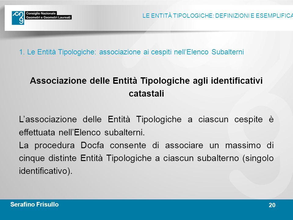 Docfa Le Entita Tipologiche Definizioni E Esemplificazioni Ppt