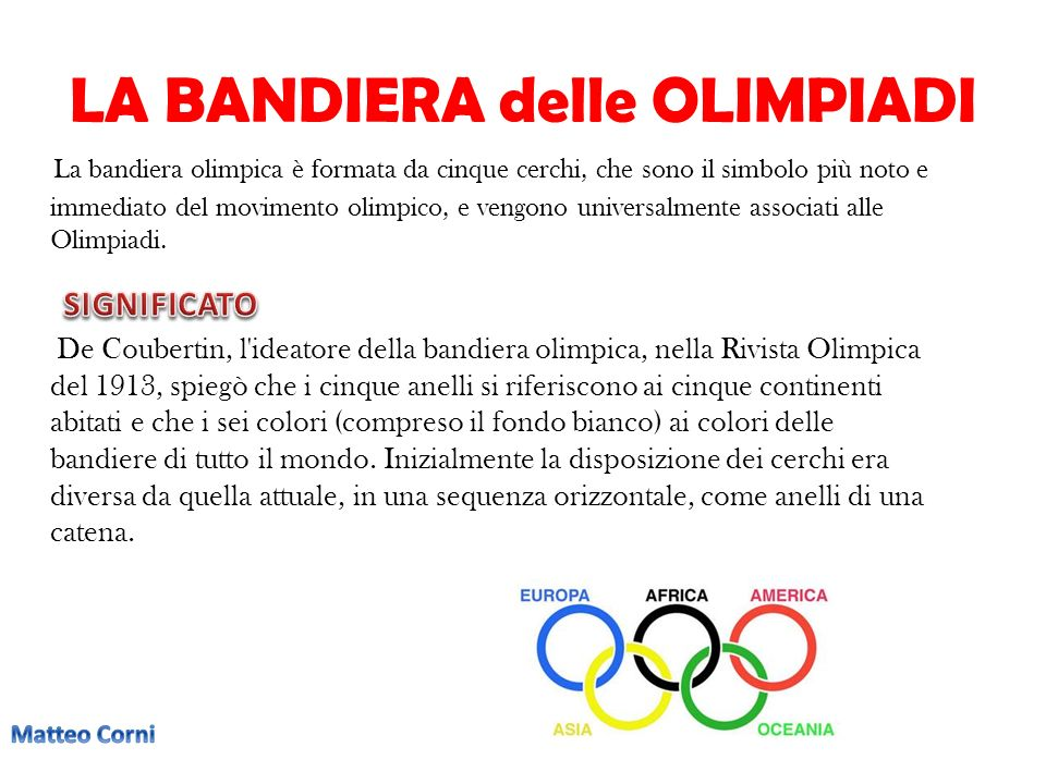 le olimpiadi un lavoro a cura di matteo corni alex rio