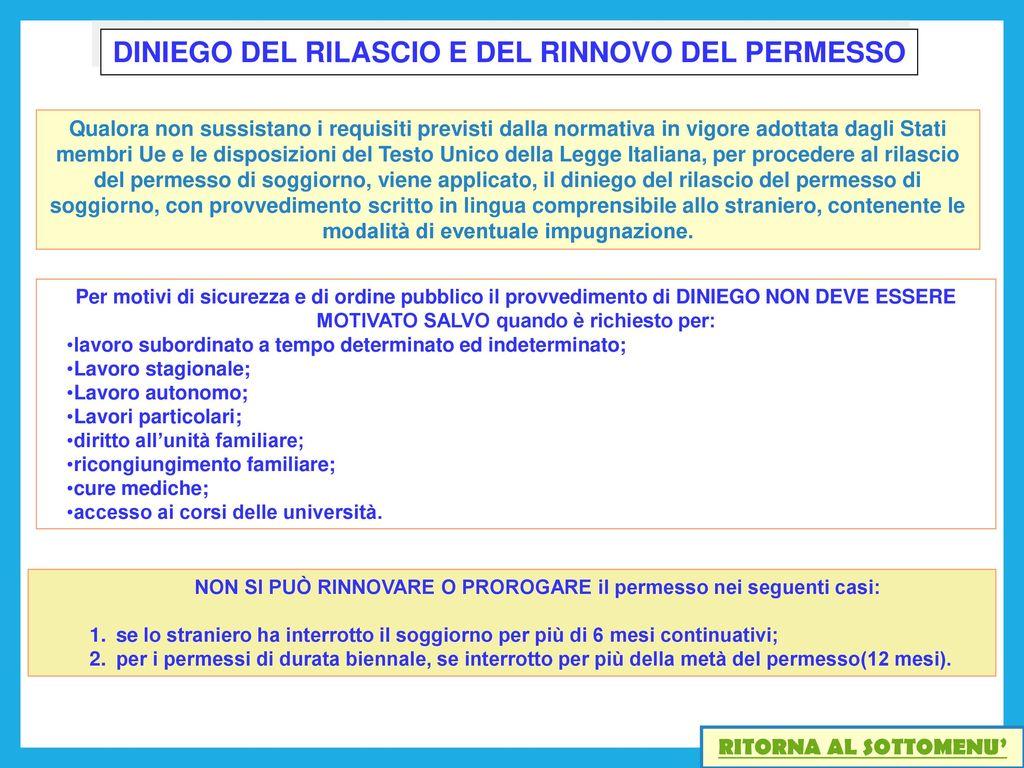 Best Diniego Permesso Di Soggiorno Ideas - Comads897.com ...