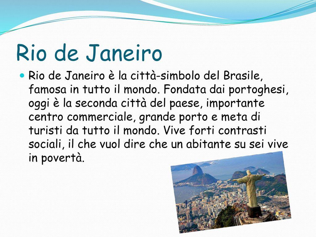 BRASILE  - ppt video online scaricare