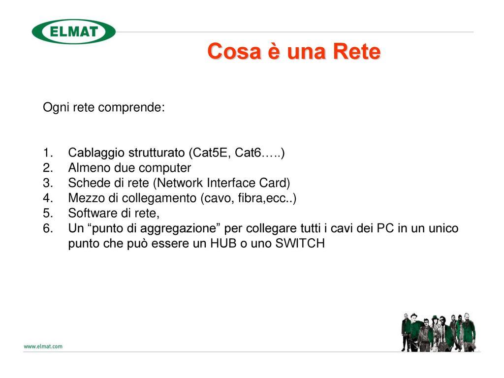 Cablaggio Cat 6 Schema : Presentato da: andrea zocco ppt scaricare