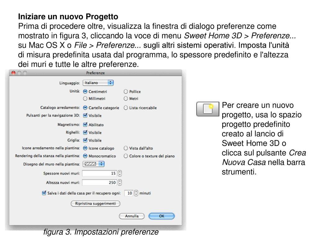 Sweet home 3d un programma gratuito per la progettazione for Programma per disegnare stanze