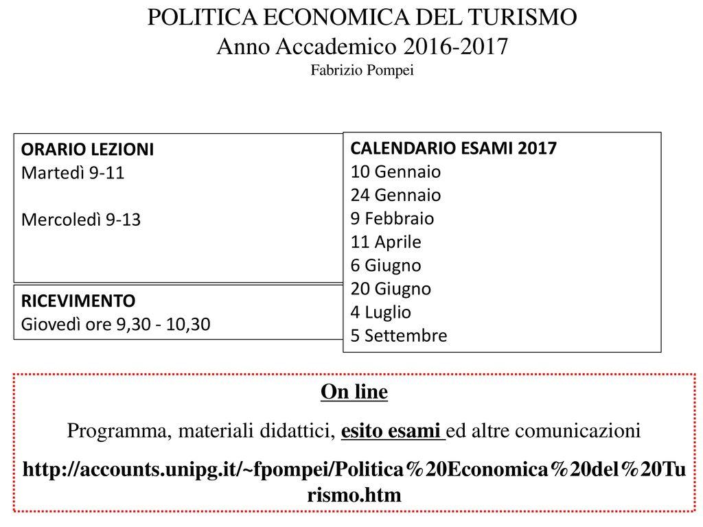 Calendario Esami Unipg Economia.Universita Degli Studi Di Perugia A A Ppt Scaricare