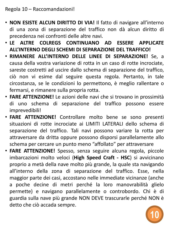 Schemi Elettrici Navi : 10 regola 10 schemi di separazione del traffico ppt scaricare