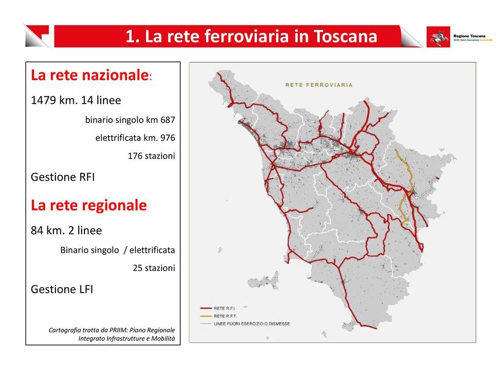 Cartina Ferroviaria Toscana.Il Contratto Di Servizio Tft Ppt Scaricare