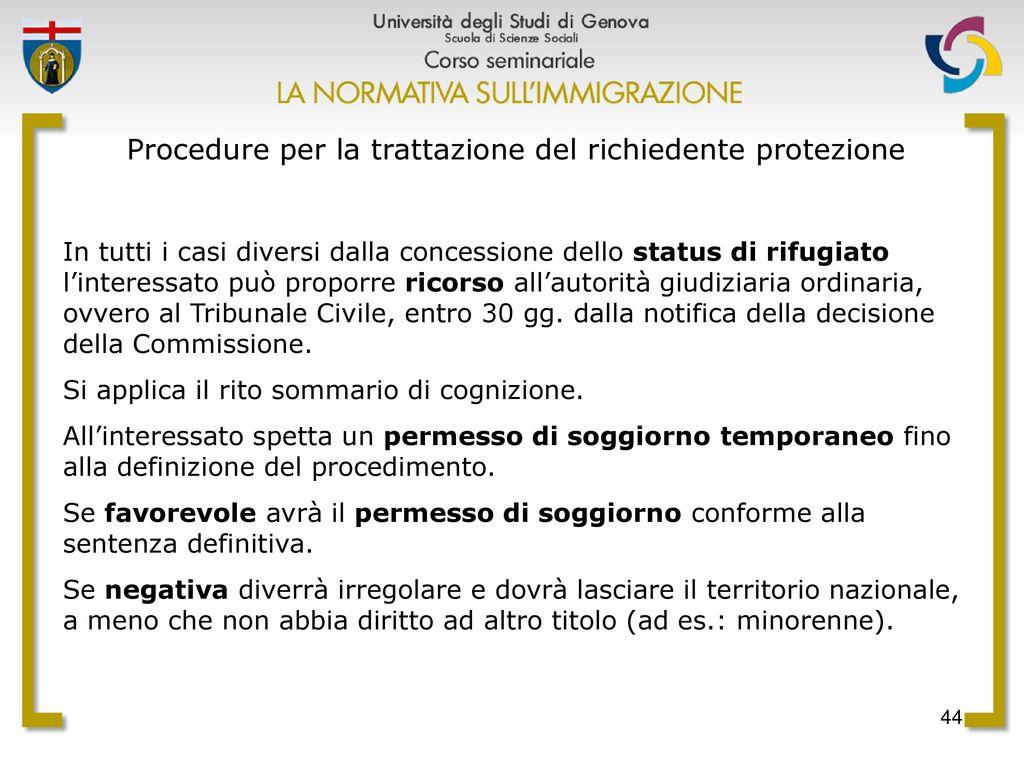 Emejing Documento Di Soggiorno In Trattazione Pictures - Home ...