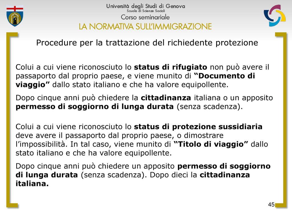 Analisi strategica dei fenomeni migratori e prospettive for Protezione sussidiaria carta di soggiorno