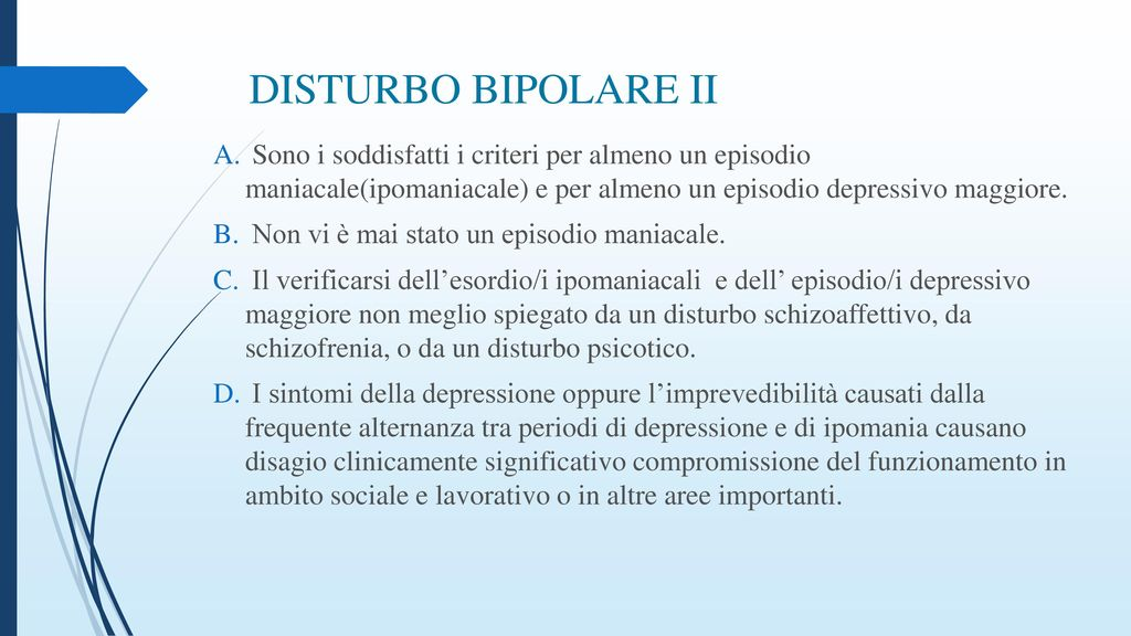 differenza tra schizofrenia e disturbo bipolare