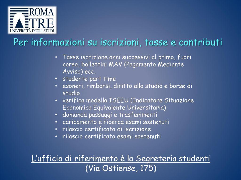 Calendario Esami Roma Tre.Corso Di Laurea In Scienze Dell Educazione L 19 Coordinatore