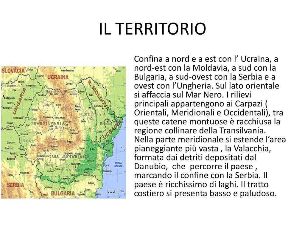 Cartina Geografica Fisica Della Romania.La Romania Ppt Scaricare