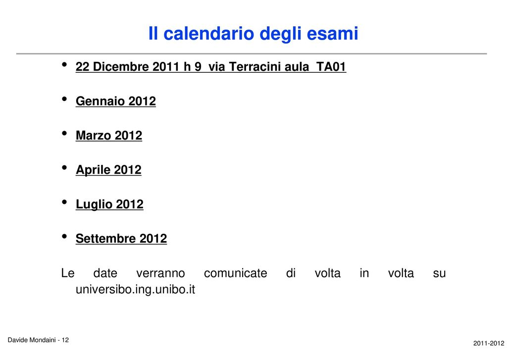 Unibo Calendario.Economia Ed Organizzazione Aziendale Ppt Scaricare