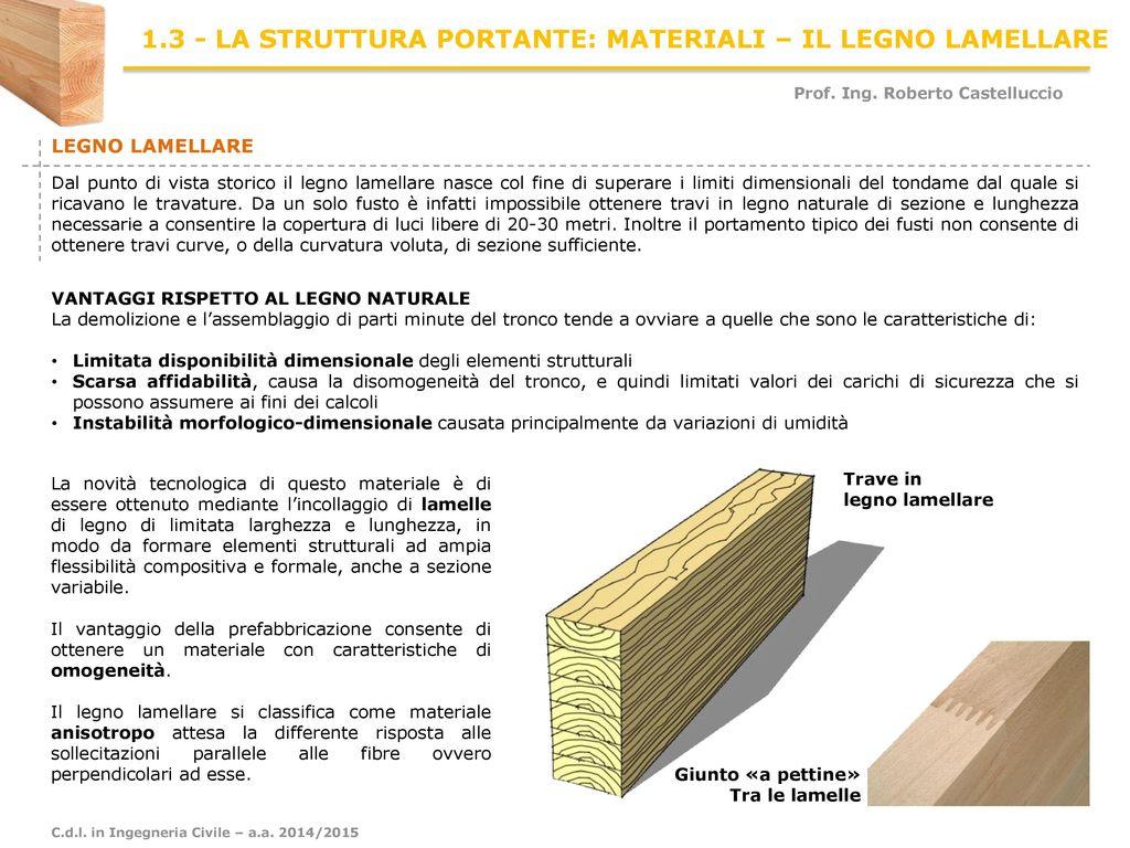 Le Fibre Del Legno 1.3 - la struttura portante: materiali – il legno lamellare