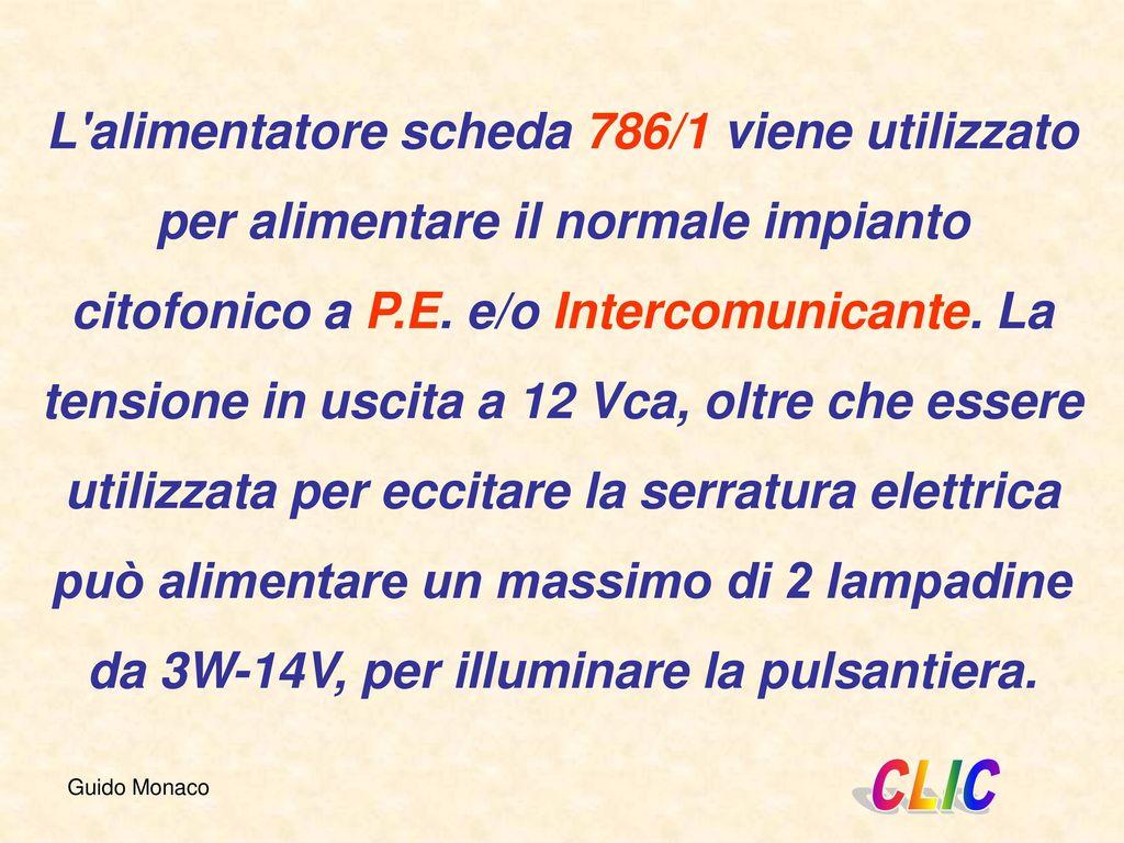 Schema Elettrico Citofono : Alimentatori per citofoni urmet ppt scaricare
