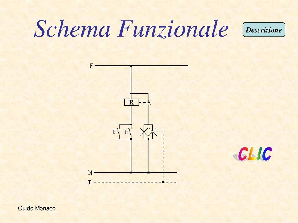 Schema Elettrico Relè Interruttore : Impianto di illuminazione con relè interruttore di due lampade