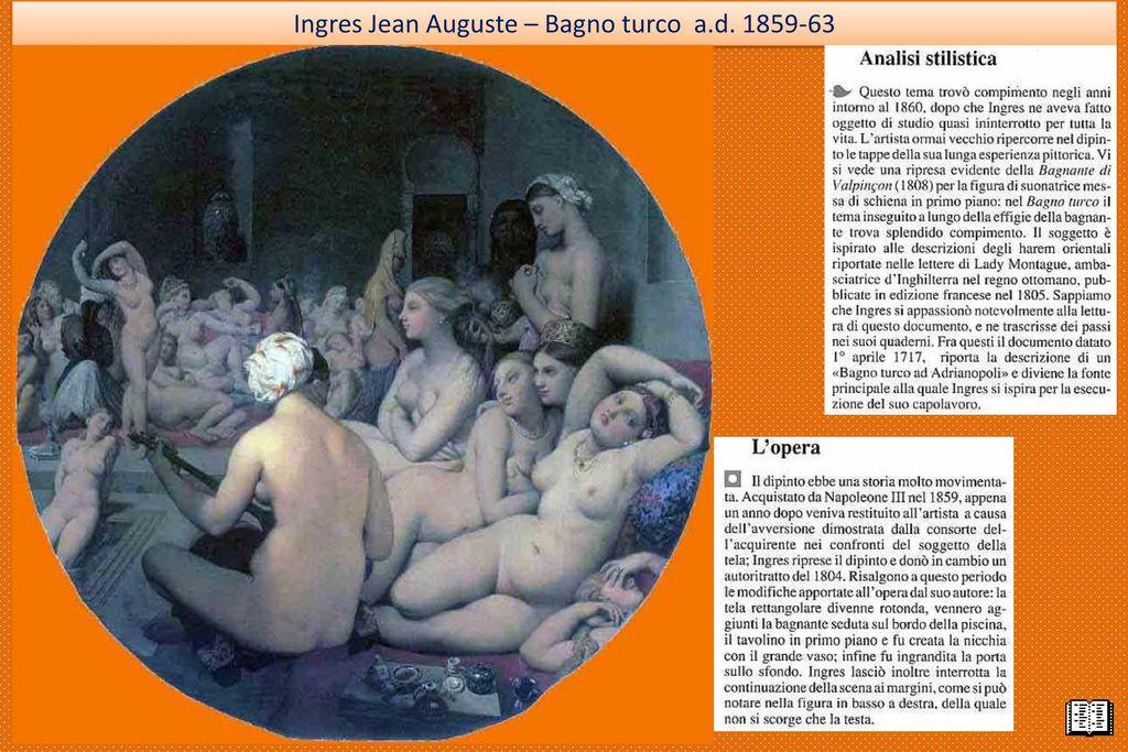 Bagno Turco Ingres : Bagno turco ingres analisi