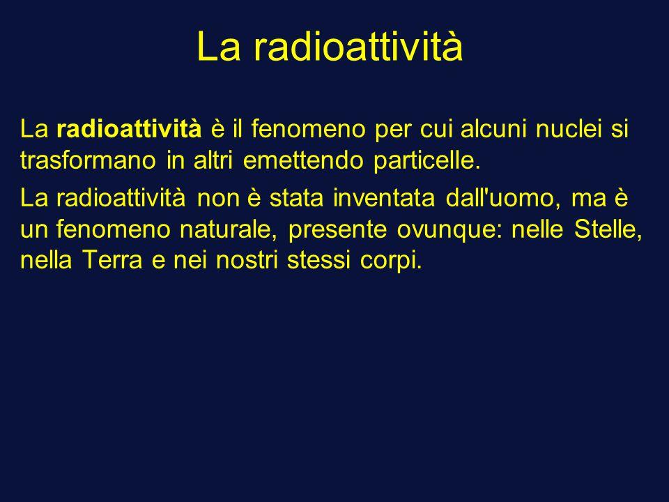 Che cosa è datazione radioattivo chiamato