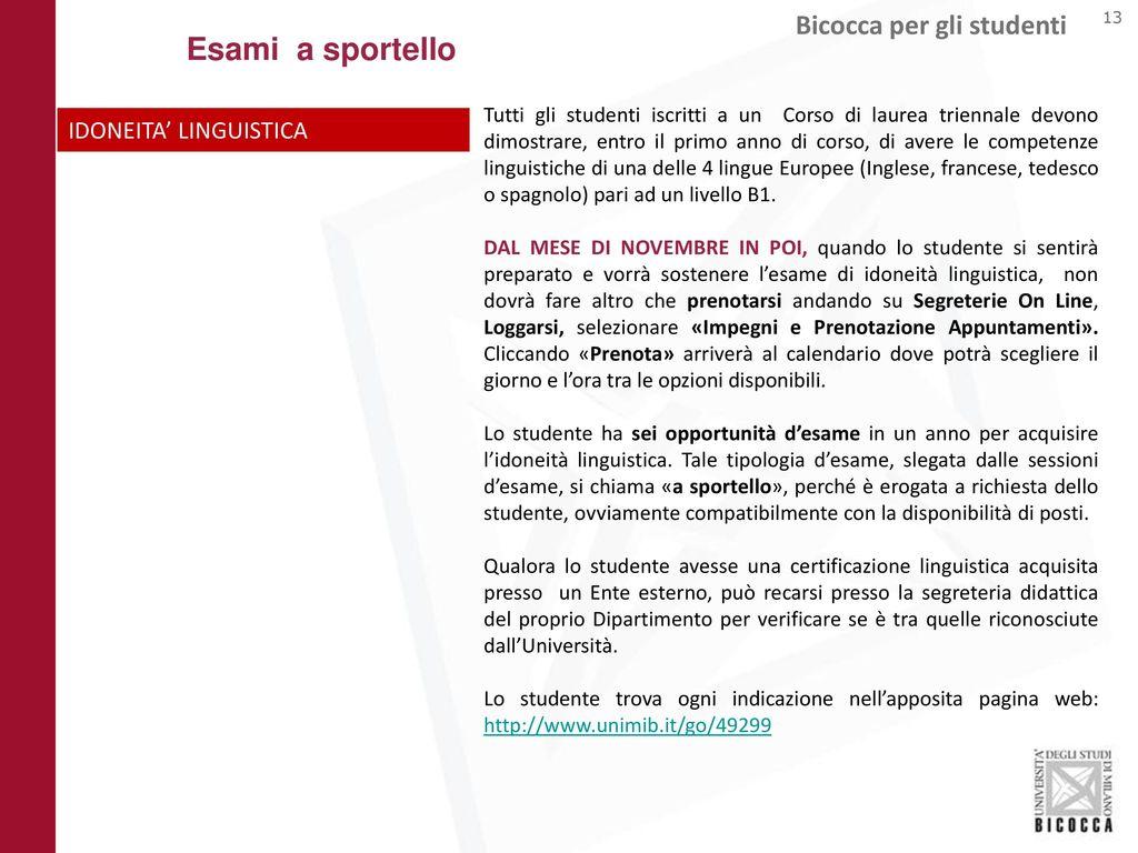 Calendario Bicocca.Benvenuti All Universita Degli Studi Di Milano Bicocca