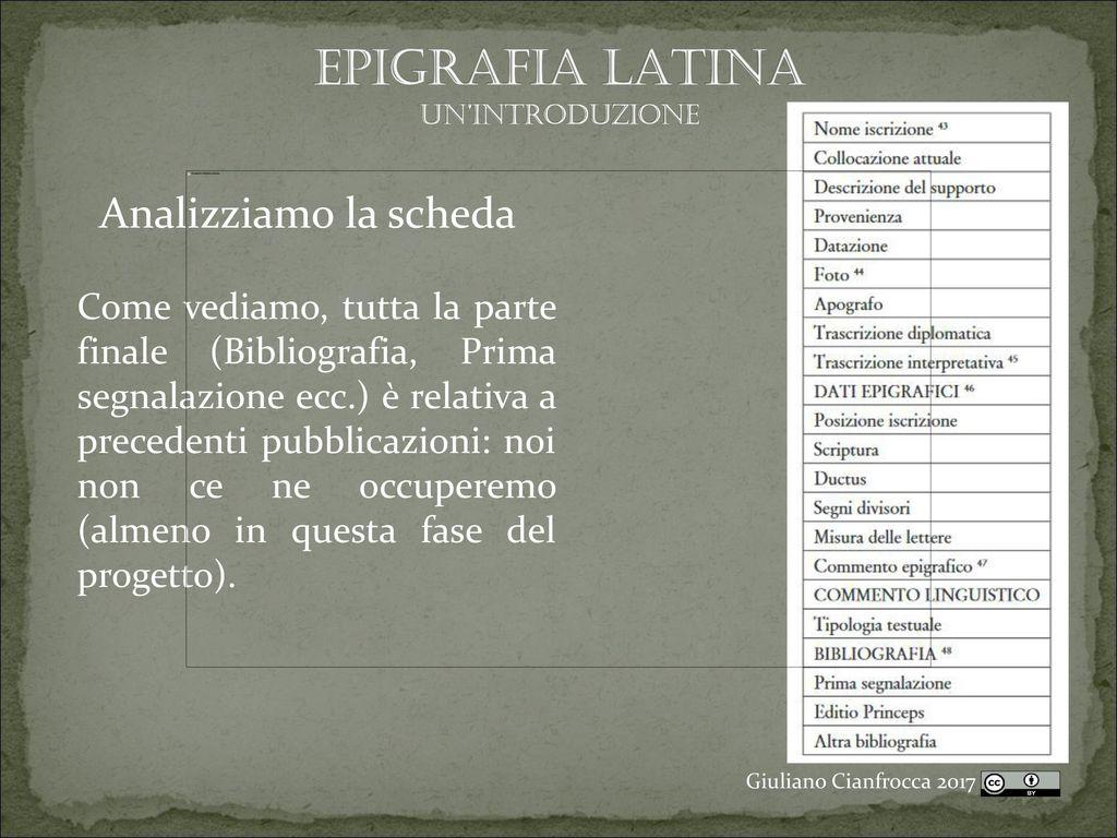 datazione di un Latina consigli