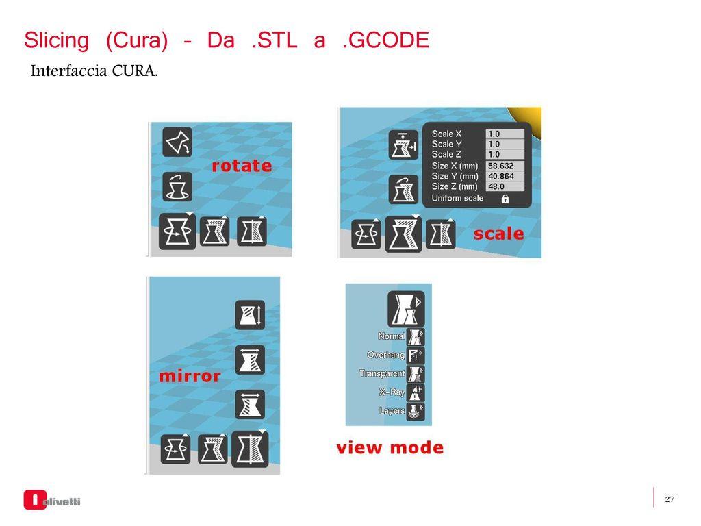 Workshop 3D printing Olivetti 3D Desk - ppt scaricare