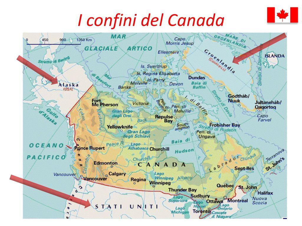 Canada Cartina Fisica.Lezione N 1 Geografia Come Studiare Uno Stato Europeo Ppt Scaricare