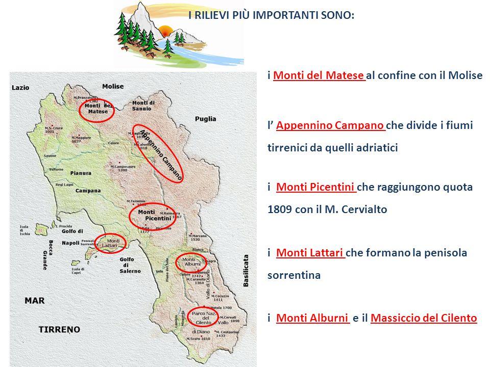 Cartina Fiumi Campania.Campania La Campania E Una Regione Dell Italia Meridionale I Confini Ppt Video Online Scaricare