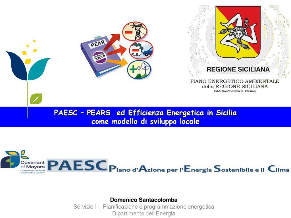 PAESC – PEARS ed Efficienza Energetica in Sicilia - ppt