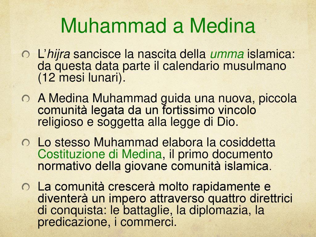 opinioni islamiche sulla datazione
