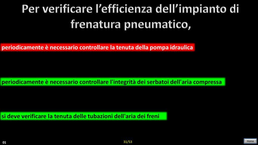 Impianti Di Frenatura Ad Aria Compressa.Peculiarita Del Circuito Di Frenatura Oleo Pneumatico Ppt