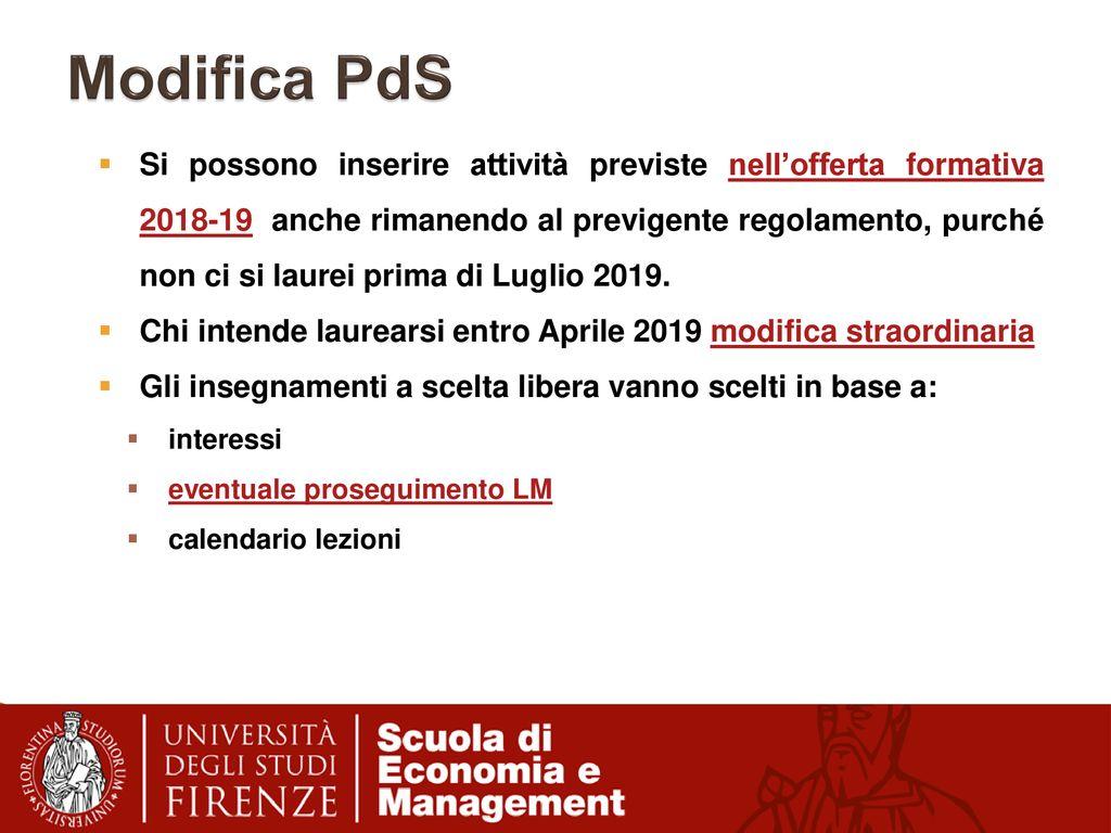 Calendario Unifi Economia.Economia E Commercio Ec Incontro Di Orientamento Con