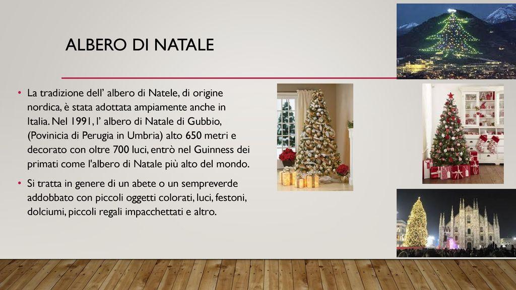 Albero Di Natale Zecchino Doro.Abitudini Natalizie In Italia Ppt Scaricare