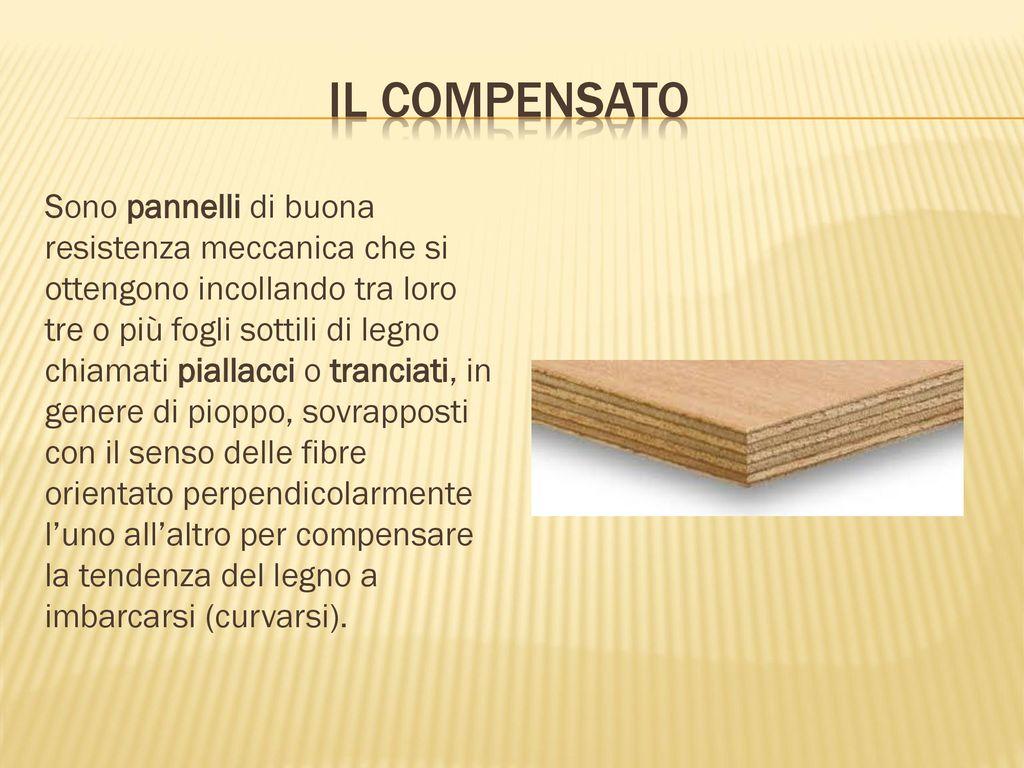 Le Fibre Del Legno i semilavorati del legno - ppt scaricare