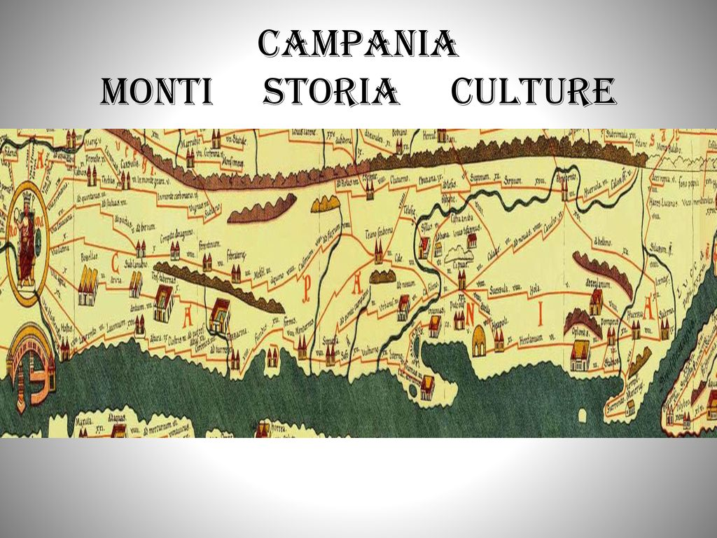 Cartina Geografica Parco Del Cilento