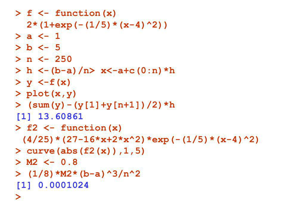 > f <- function(x)