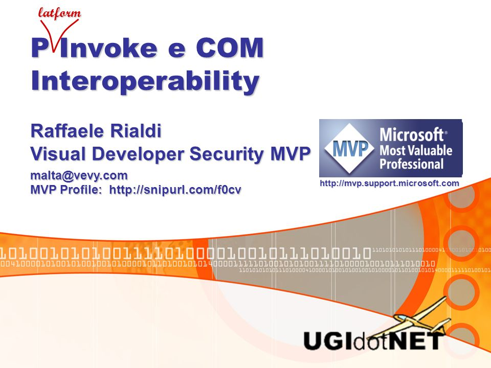 P Invoke e COM Interoperability