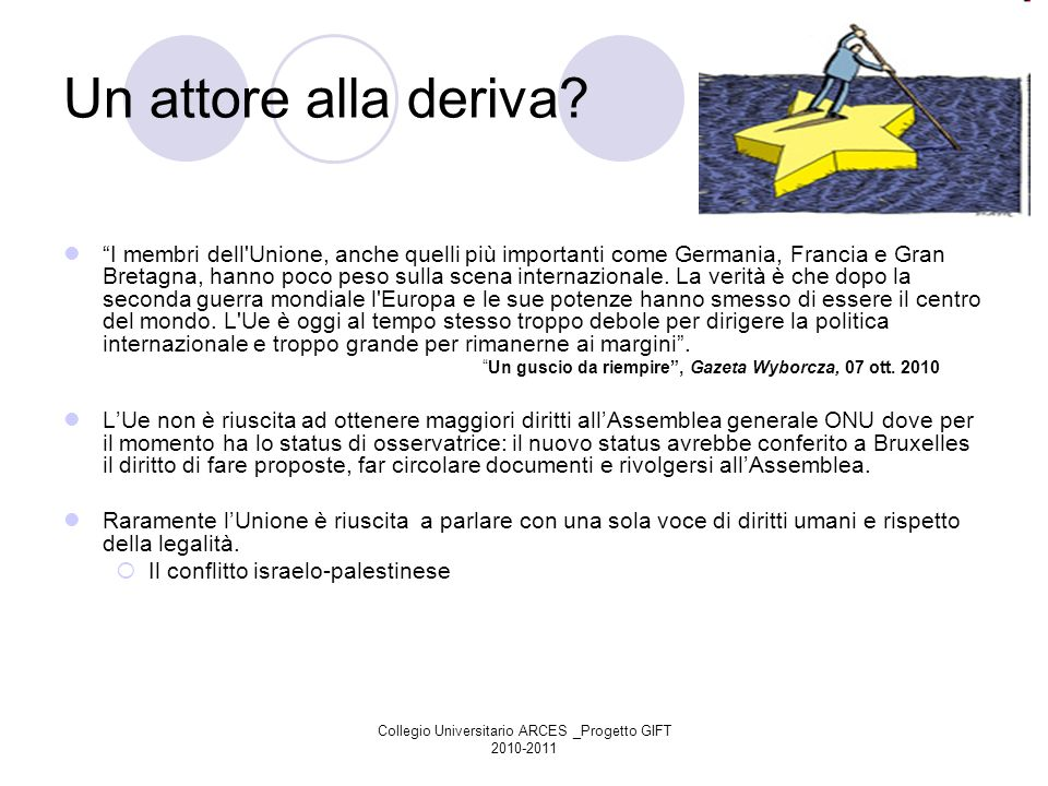 Collegio Universitario ARCES _Progetto GIFT