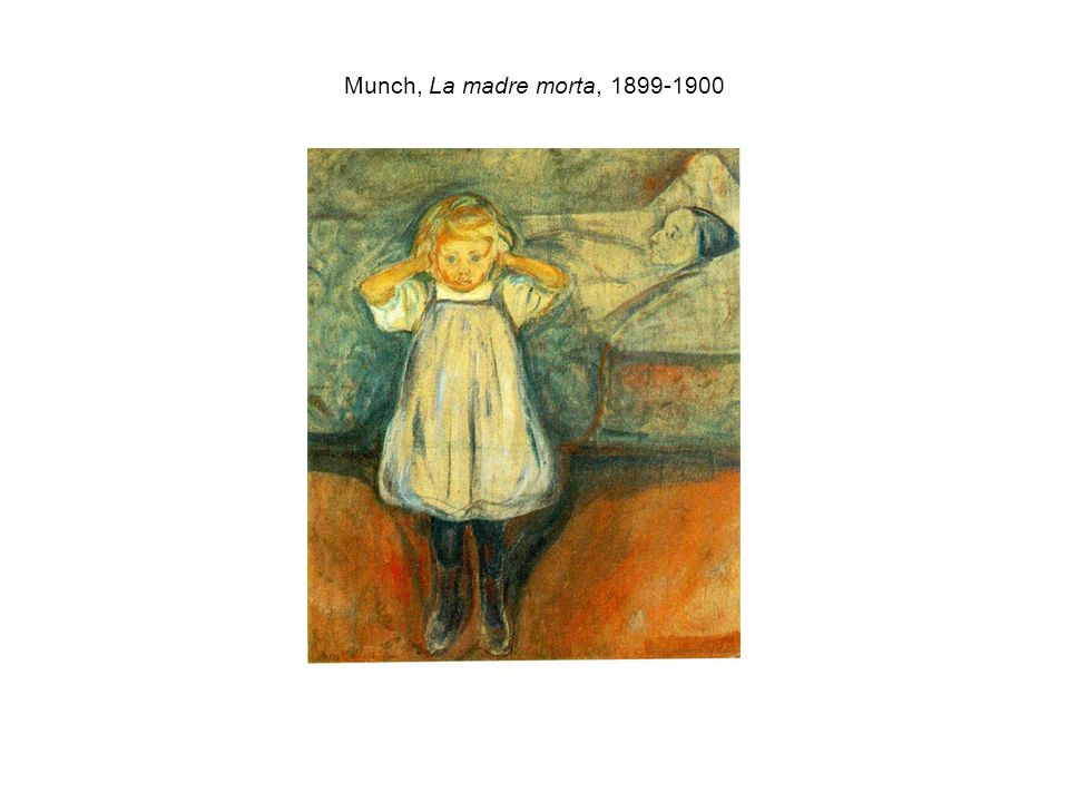 Munch, La madre morta,