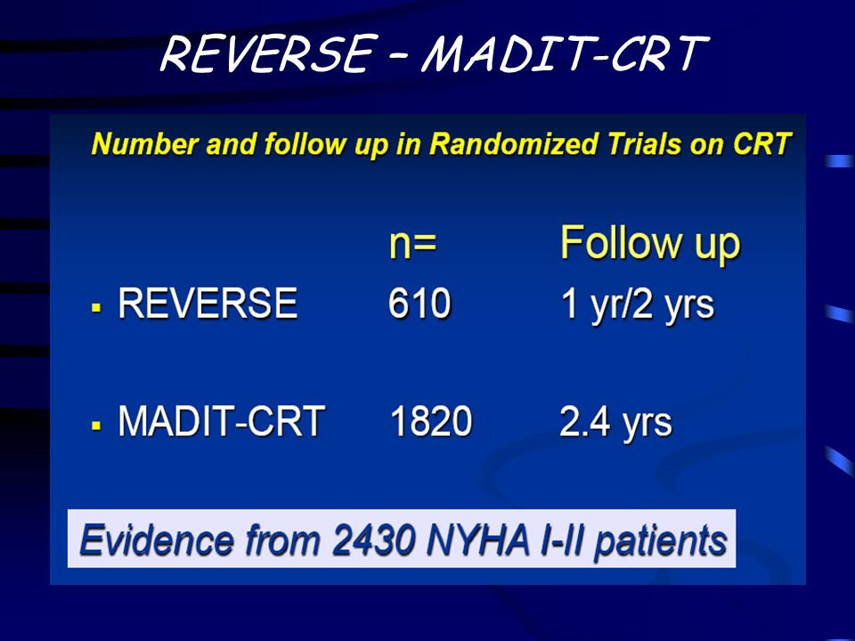 REVERSE – MADIT-CRT Video dilatazione VS in HF