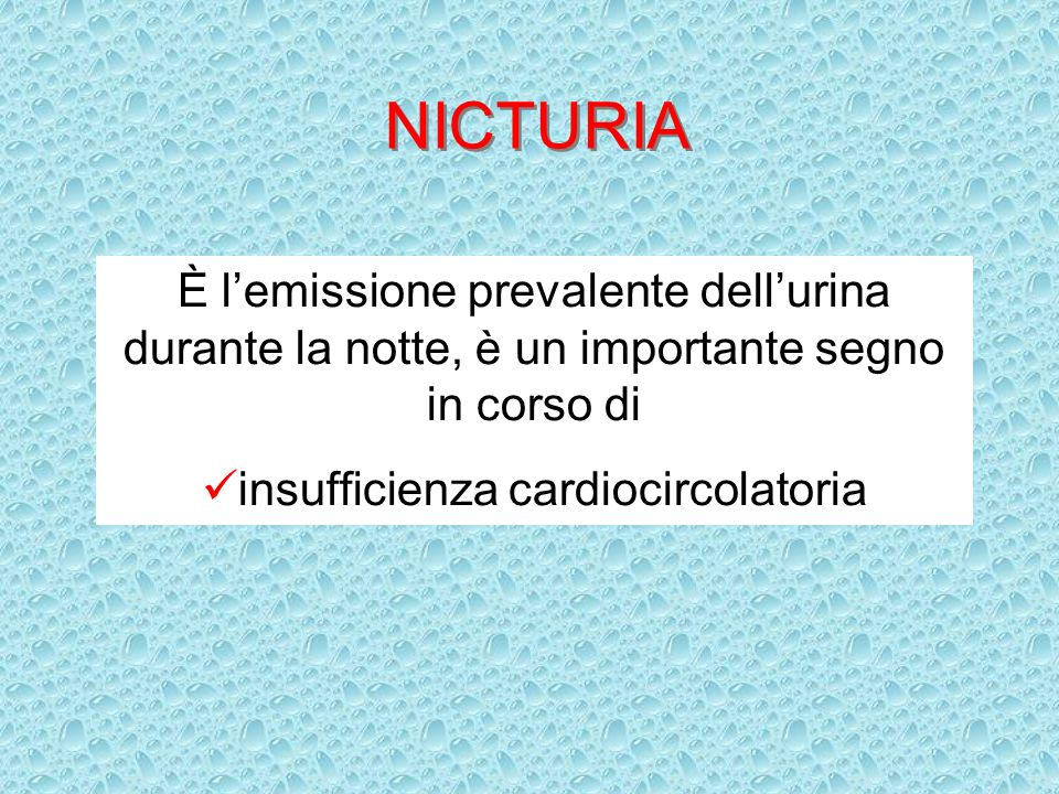 insufficienza cardiocircolatoria