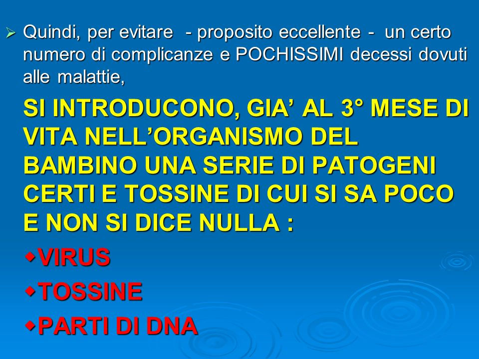 VIRUS TOSSINE PARTI DI DNA