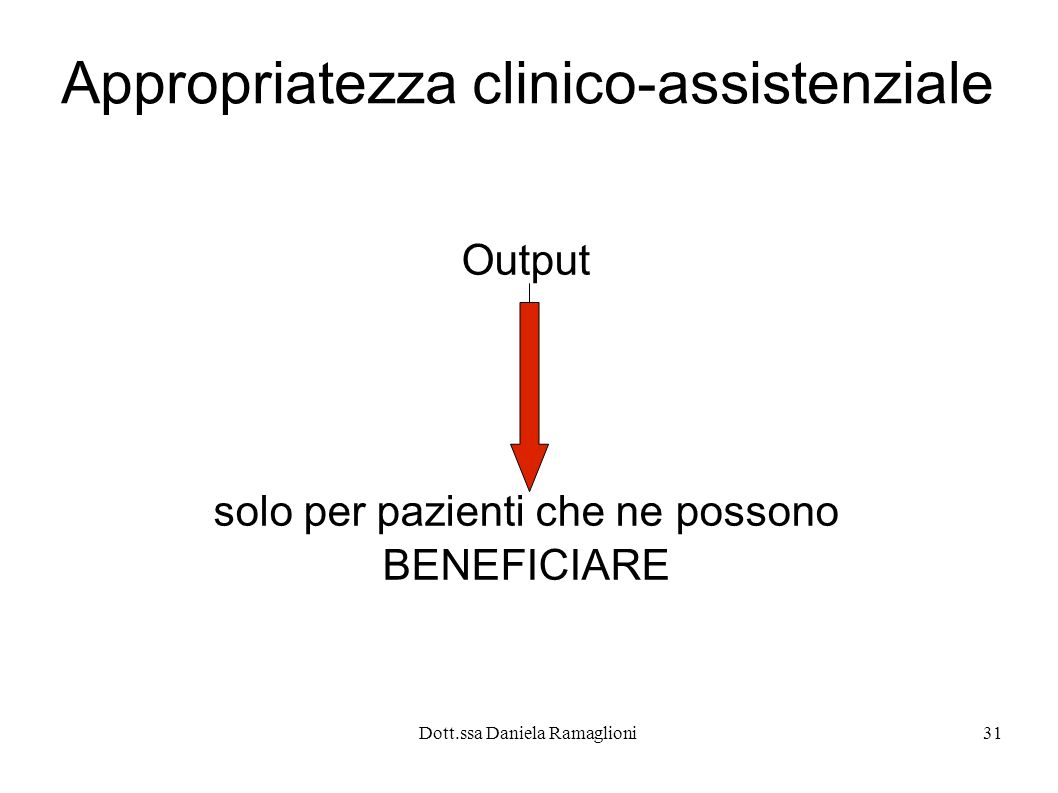 Appropriatezza clinico-assistenziale