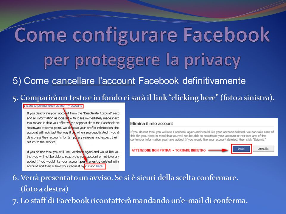 Come configurare Facebook per proteggere la privacy