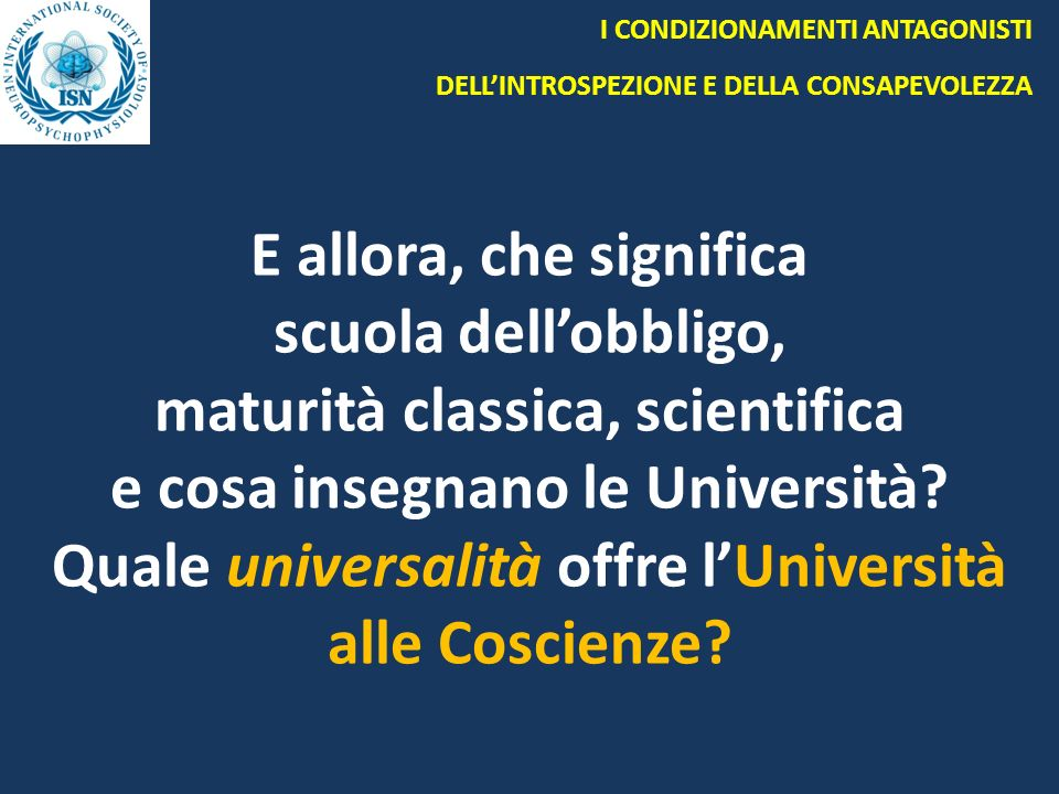 maturità classica, scientifica