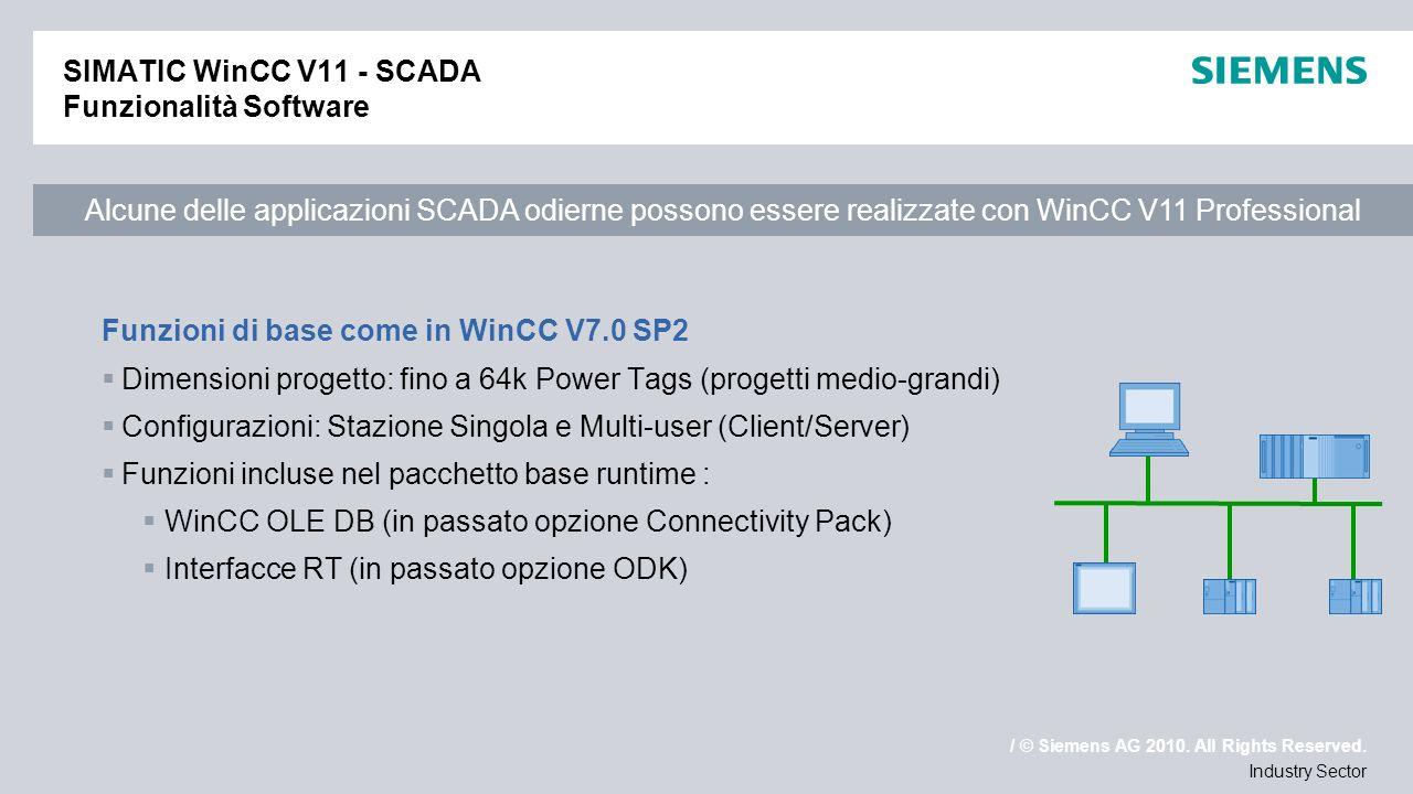WinCC V11 e SIMATIC Panels - ppt video online scaricare