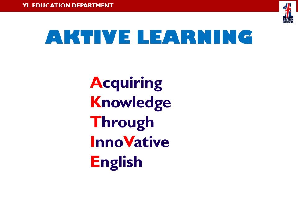 Acquiring Knowledge Through InnoVative English